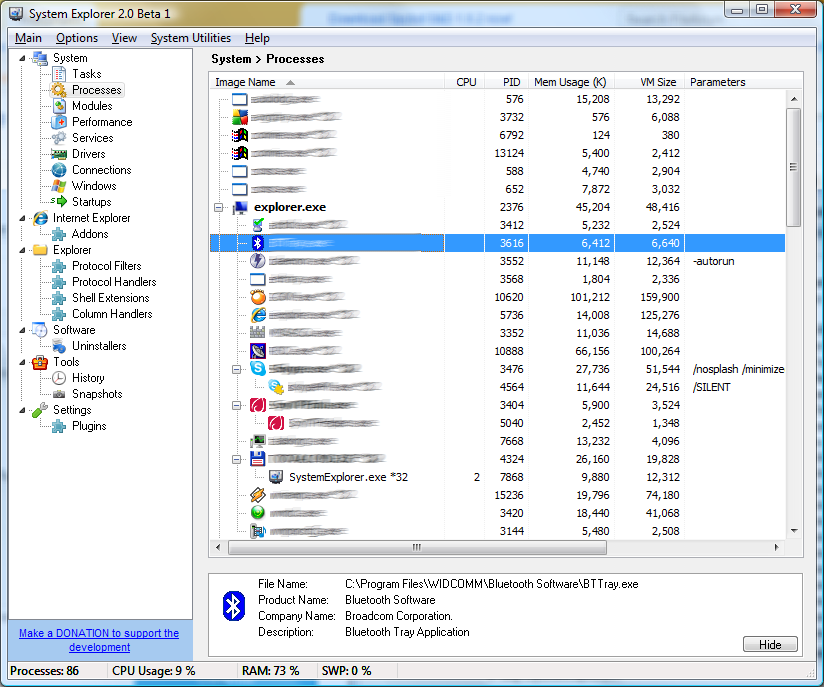 Windows 7 System Explorer Portable 7.1.0.5359 full